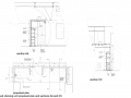 Portfolio - DETAIL - office plan and sections (shelving unit)
