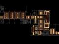 Portfolio - RENDERING - Hotel lobby plan