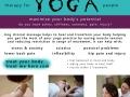 Massage Leaflet - Treat Me Here