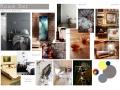 Portfolio - MOOD/STYLE BOARD - room set